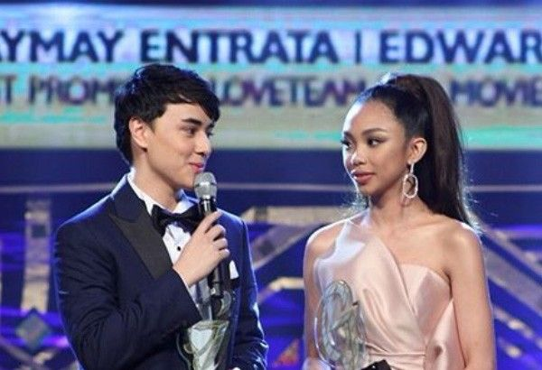 MayWard hailed as Most Promising Love Team for Movies