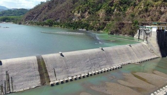 Photo shows the Chico River pump irrigation project in Kalinga.