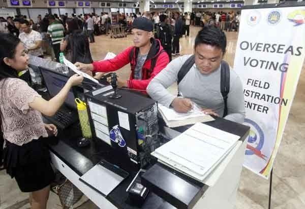 Voting for 1.8 million overseas Filipinos starts April 13