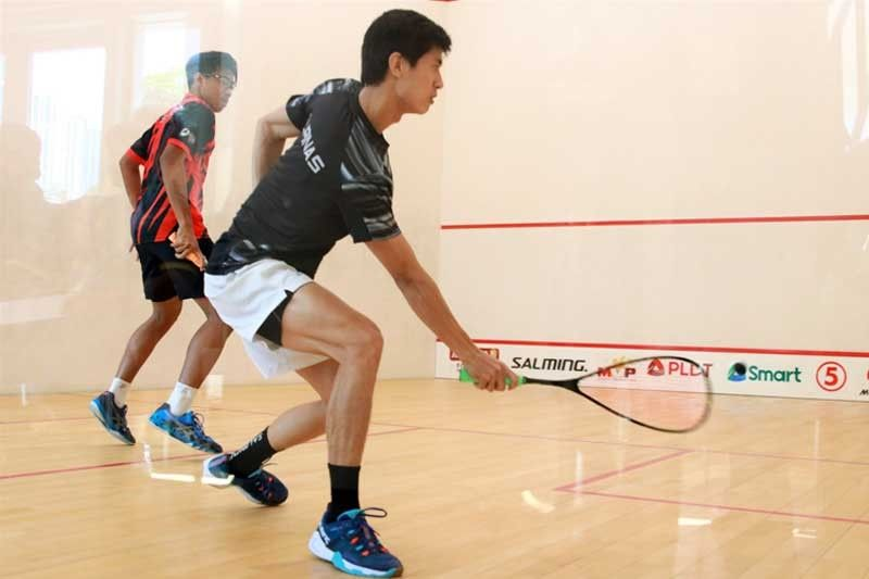Reymark Begornia rallies to reach SEA squash final