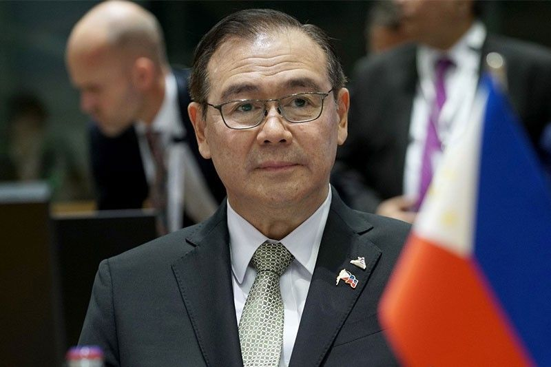 Locsin: Not the right time to disagree over South China Sea
