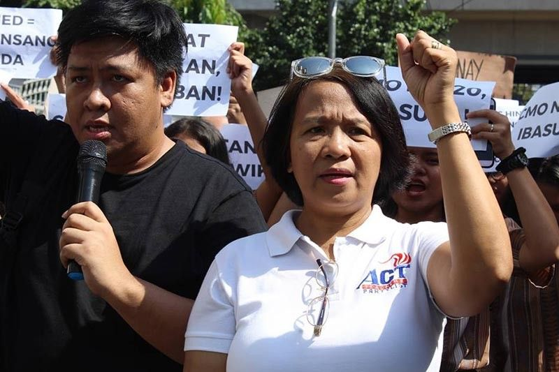 ACT Teachers party-list solon awarded prize for trade union rights