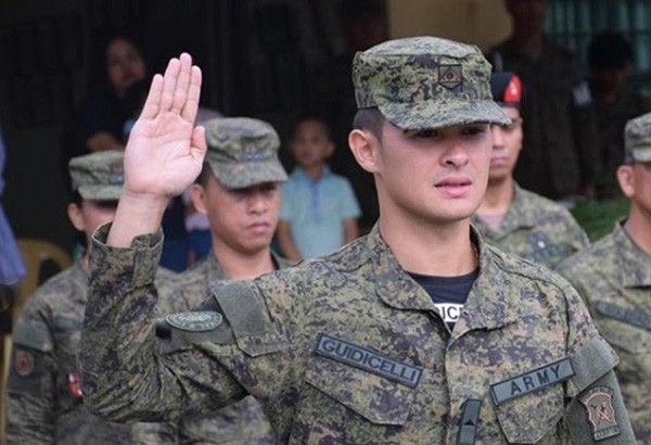 Matteo Guidicelli bares why he joined the Philippine Army