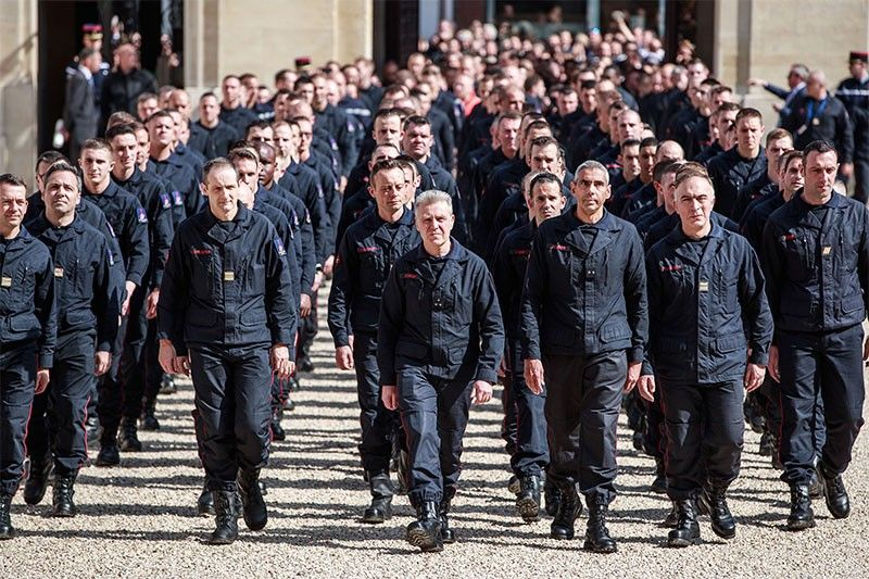 France salutes 'exemplary' firefighters for saving Notre Dame
