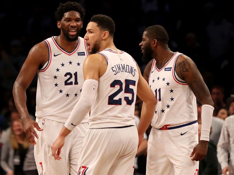 6e343d90849f Enbiid sparks 76ers to NBA playoff win vs Nets after two ejected ...