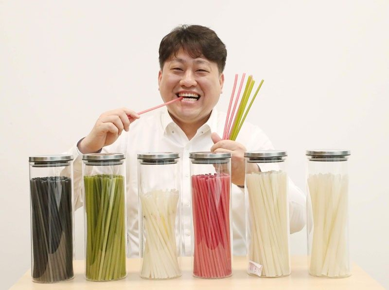 Straws you can eat