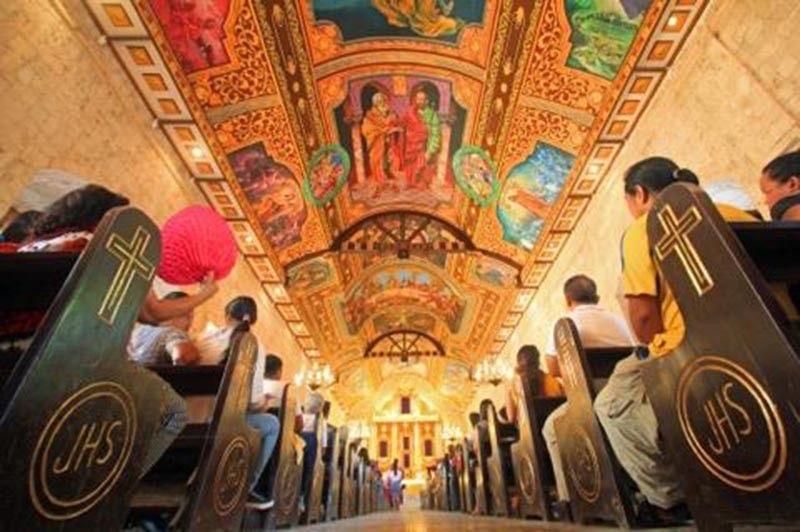 In Bantayan Church, mural seen to boost tourism