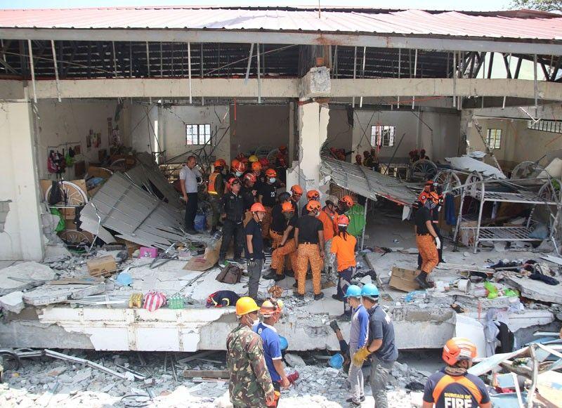 Luzon  quake  death toll  hits 16
