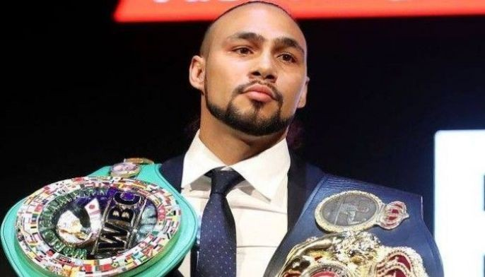 """WBA welterweight champion Keith """"One Time"""" Thurman"""
