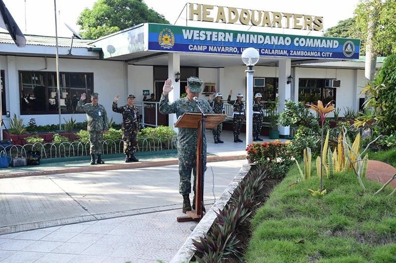 Western Mindanao Command troops cast votes in midterm polls