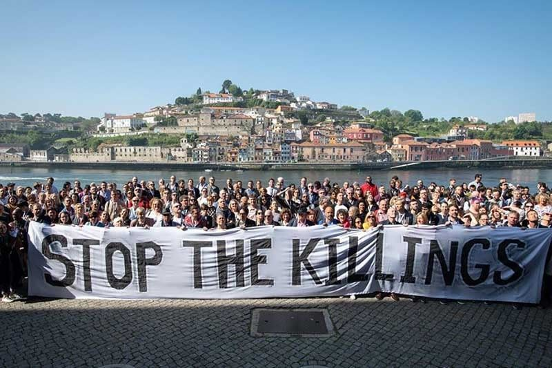 Rights activists protest drug war at Portugal policy conference