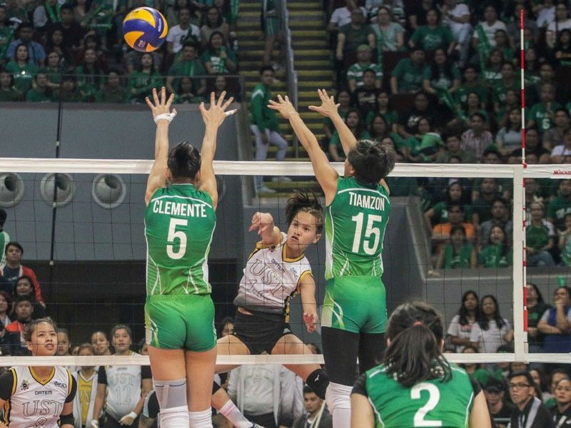 UST ousts DLSU, barges into UAAP women's volleyball finals