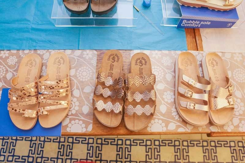 Greece is the word in summer sandals