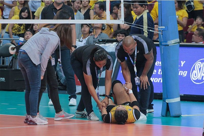 'We pray for Eya': Ateneo wishes injured UST rookie well