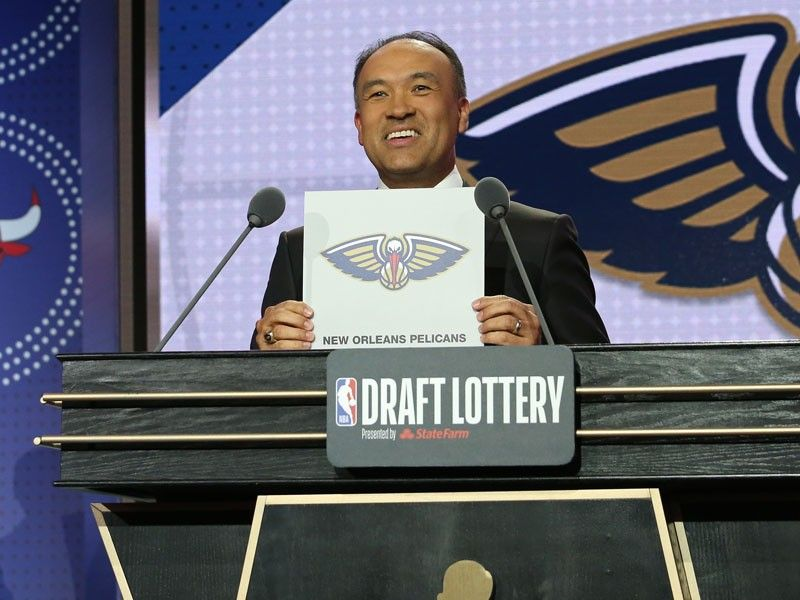 Pelicans to pick first in NBA draft after winning lottery