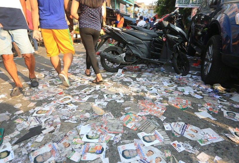 MMDA to recycle campaign trash
