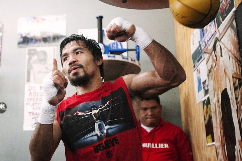 Pacquiao, Thurman face to face