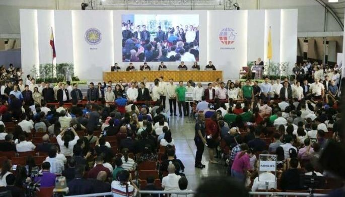 The groups that obtained three seats each were ACT-CIS or Anti-Crime and Terrorism through Community Involvement and Support, a group that supports President Duterte, and left-leaning Bayan Muna, which is critical of the administration.