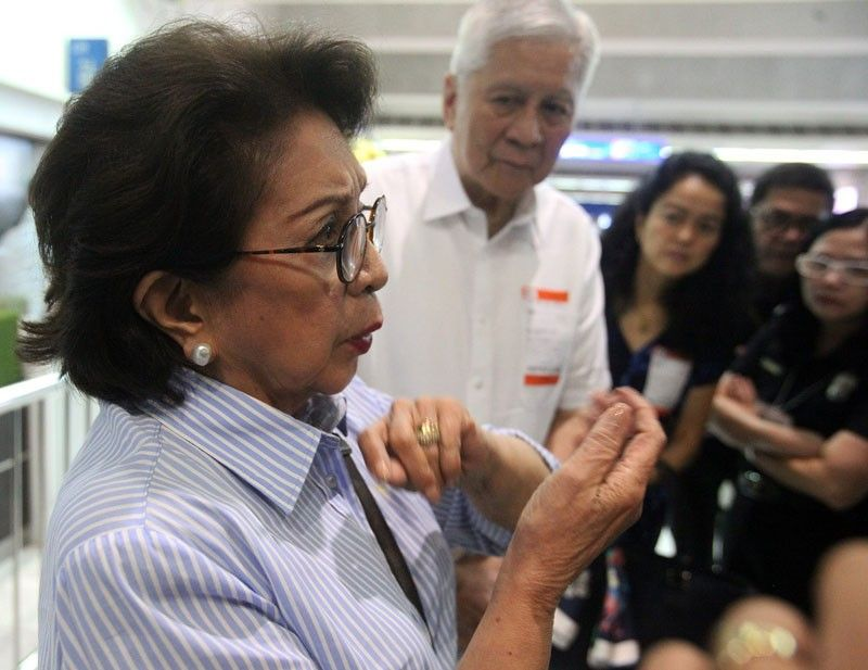Palace hands off on Conchita Carpio-Morales' issue with Hong Kong immigration