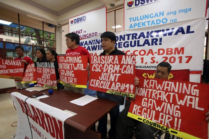 Workers, labor groups see end of �endo�