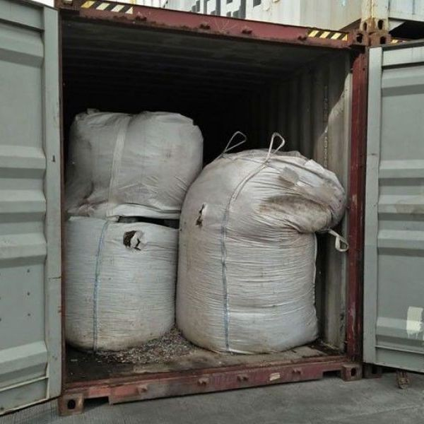 """Earlier this week, the Bureau of Customs inspected one 40-footer container van containing 22 sling bags weighing 25,610 kilograms of mixed plastic waste instead of the declared """"assorted electronic accessories"""" from Hong Kong."""
