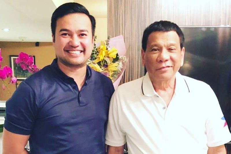 Marinduque's Velasco sees ties with Duterte as advantage for House speaker bid