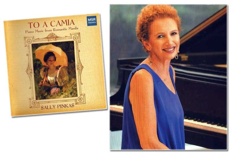 To a Camia & other Phl melodies by Sally Pinkas