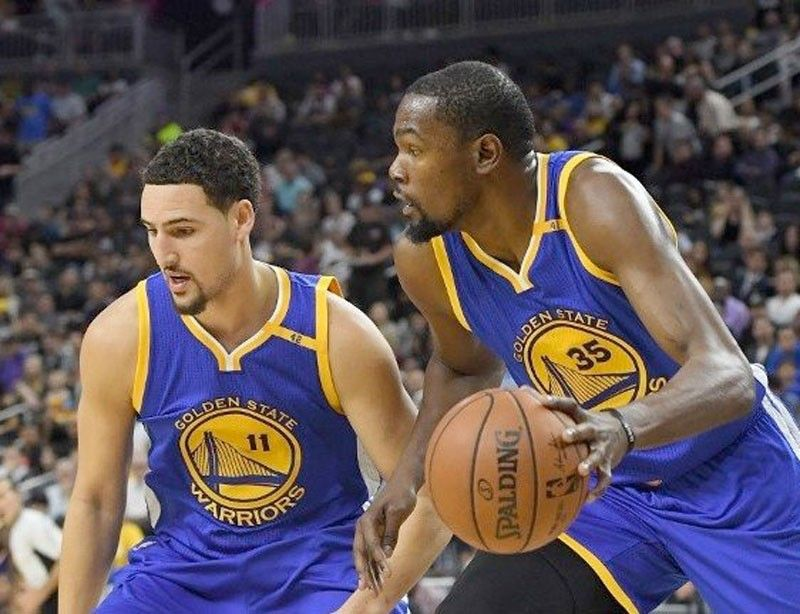 Durant out, Thompson to return in Game Four   Philstar com