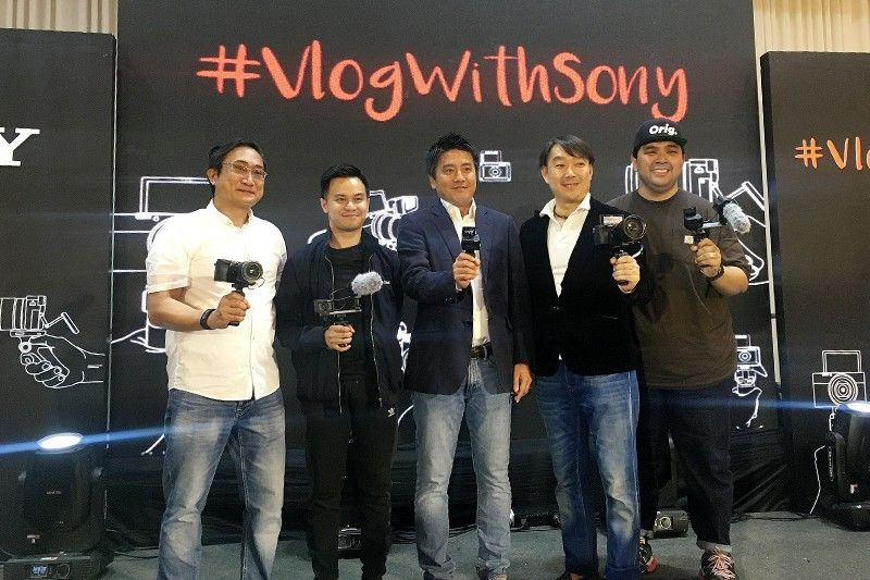 Sony unveils �Total Vlogging Solutions� for content creators