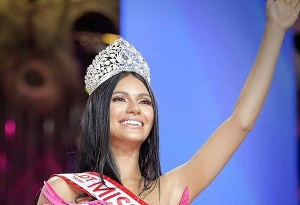 Gazini Ganados thanks Palestinian father for success as new Binibining Pilipinas Universe