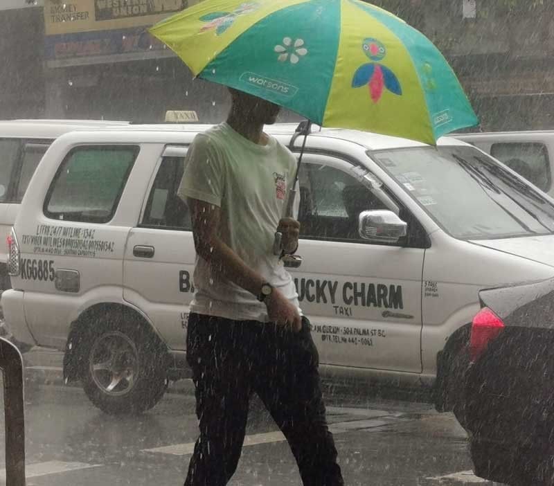 It's official: Rainy season is here