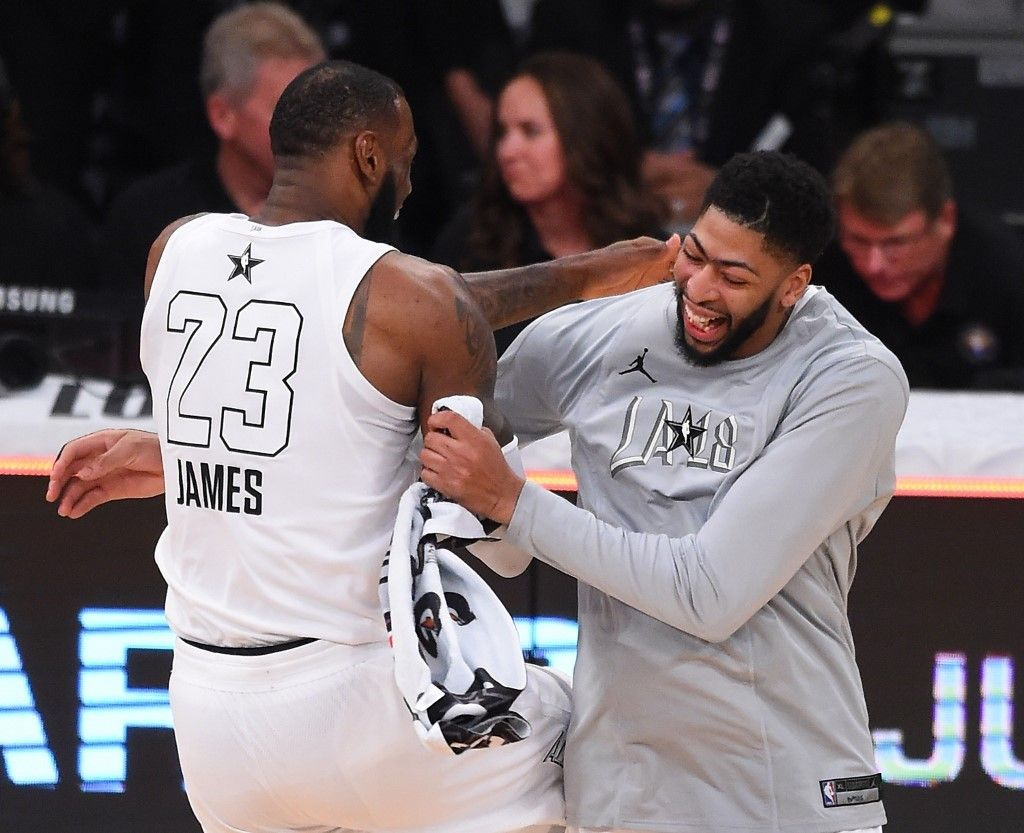 b3225f0b LeBron James will reportedly be giving up his No. 23 jersey to new teammate Anthony  Davis.