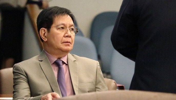Sen. Panfilo �Ping� Lacson was saddened President Rodrigo Duterte�s statement on the collision between a Chinese vessel and Filipino boat F/B Gen-Vir 1 near Recto Bank in the West Philippine Sea.