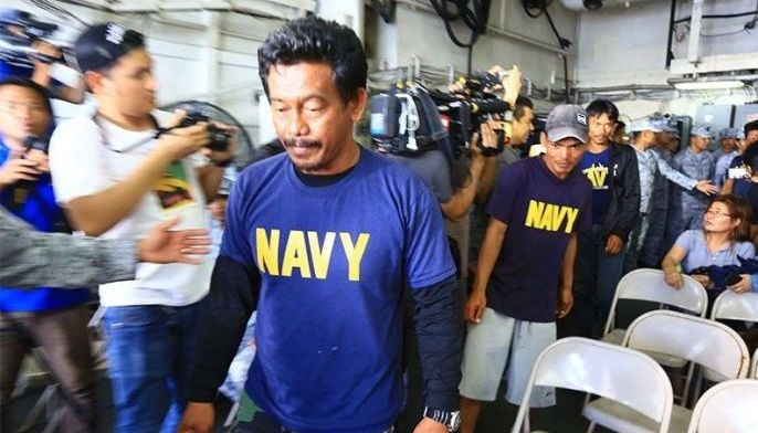 Junel Insigne, the captain of F/B Gem-Vir 1, said President Rodrigo Duterte should have acknowledged that the Chinese vessel intentionally rammed their boat.