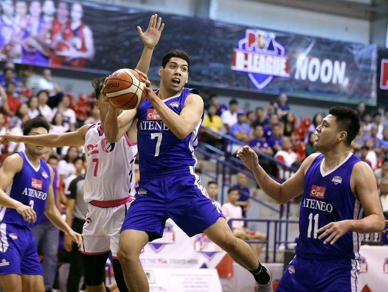 Blue Eagles bounce back for 2-1 lead