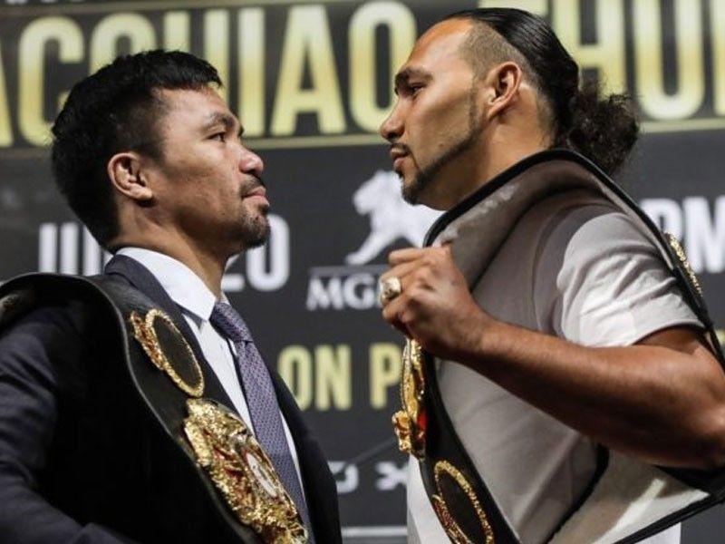Thurman warned on Pacquiao fight
