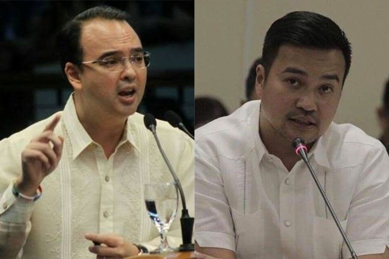 Cayetano accuses Velasco of lying about term-sharing