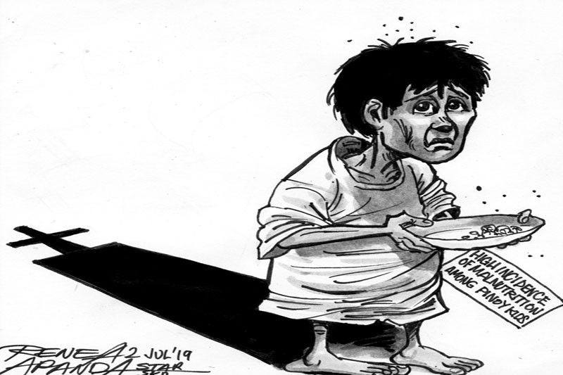 Editorial Every Child Needs Nourishment >> Editorial Stunted And Malnourished Philstar Com