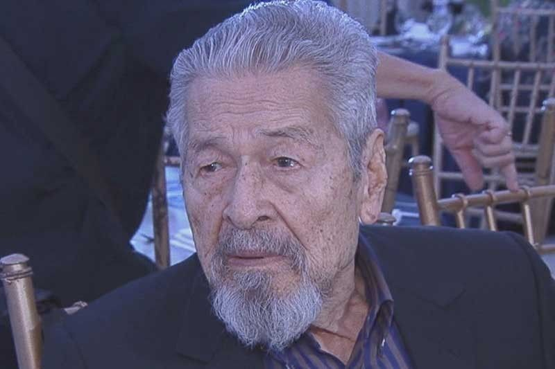 GMA releases statement on Eddie Garcia's accident | Philstar com