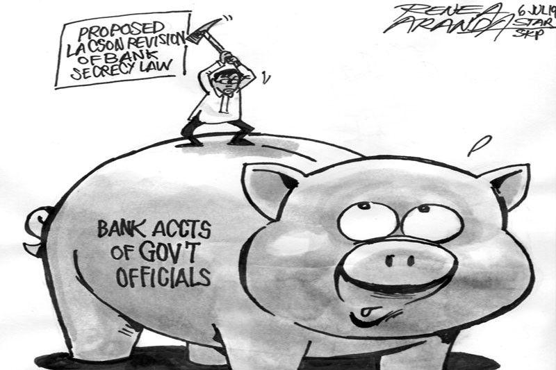 EDITORIAL - Bank secrecy exemption