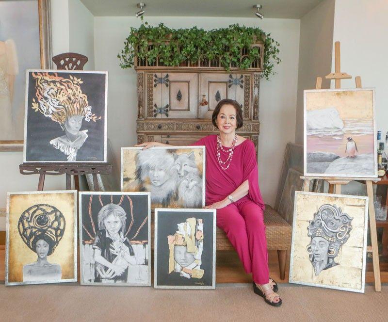 Conchitina Sevilla-Bernardo: �My anti-aging secret? Painting with my heart and soul�