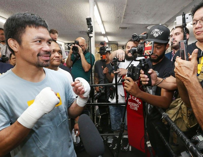 Trainers beg Pacquiao: Slow down, take a rest