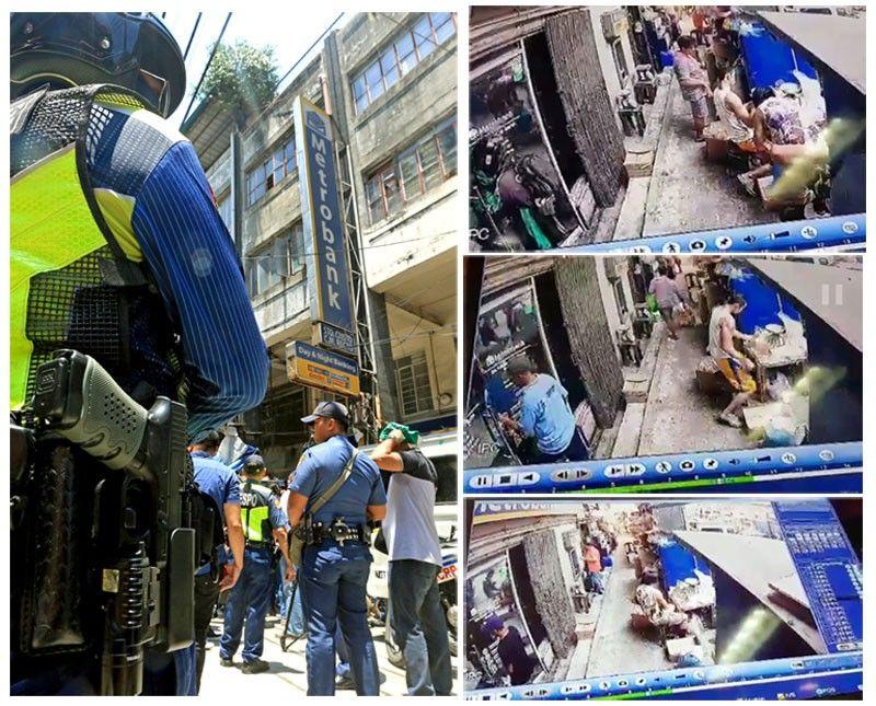 Manila bank robbed;  inside job eyed