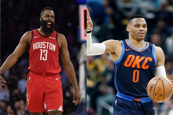 best sneakers a51df c823a Reports: Westbrook to reunite with Harden in Houston ...