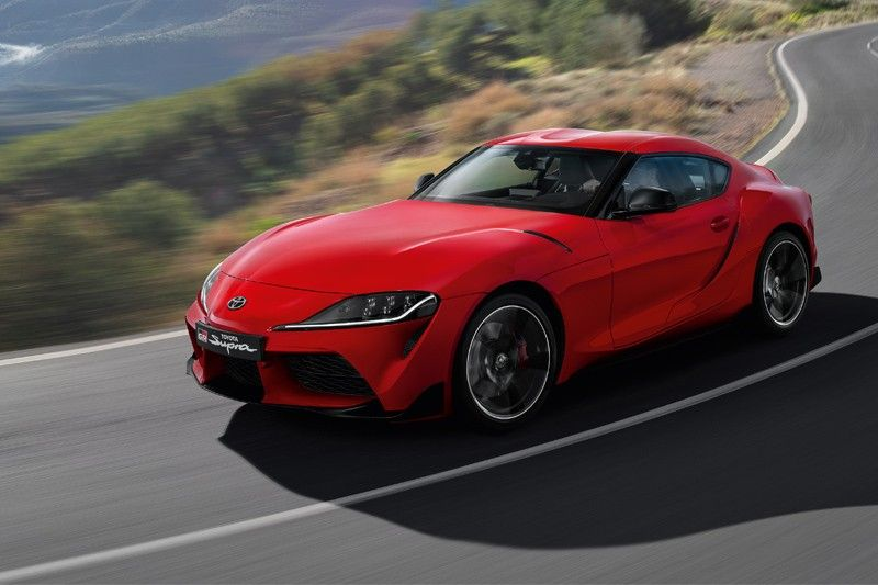 All-New Toyota GR Supra arrives in the Philippines in style
