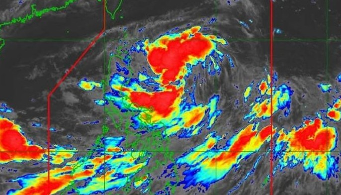 In its early morning weather bulletin, PAGASA said 'Falcon' was 690 kilometers east of Tuguegarao City, Cagayan as of 4:30 a.m. and moving west at 30 kph.