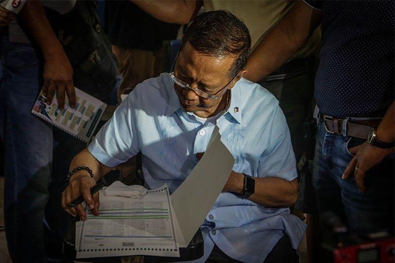 Ex-VP Binay files poll protest vs Makati Rep. Peña