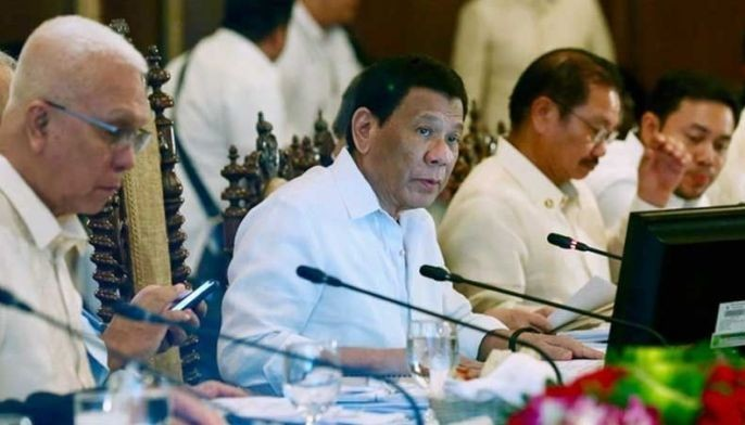"Last month, President Duterte told reporters there would be a ""mini revamp"" in the Cabinet but later on clarified he was just joking."