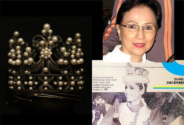 Beauty queen withdraws Mikimoto crown from auction, gallery confirms