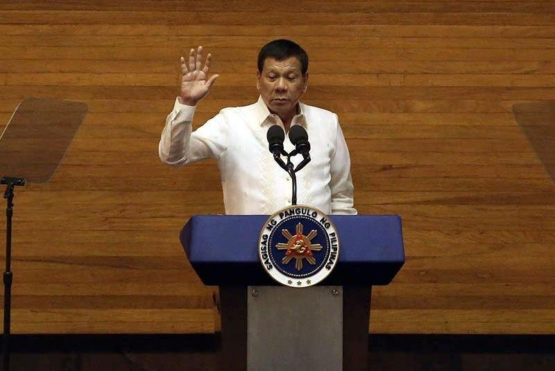How long Duterte's SONAs were through the years
